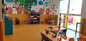 Interior de las clases