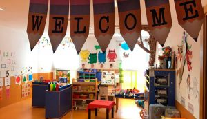 Aula adaptada de nuestra escuela infantil Novaschool