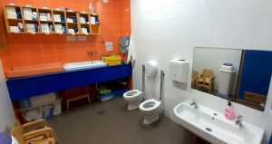 Baños de la escuela infantil
