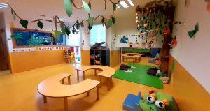 Interior del aula de alumnas de 2 años